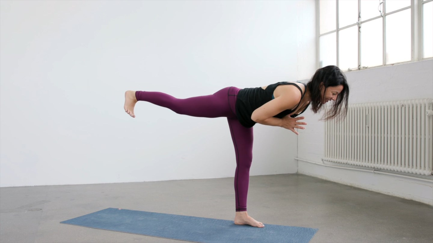 Lengthen your spine